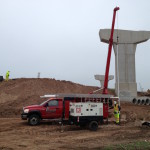 Setting a 60 GPM pump for the WI DOT Hwy 29 Interchange project