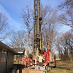 Replacing a residential well on an existing property