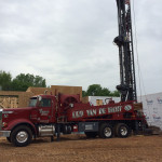State of the art rotary drill rig