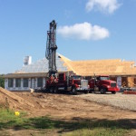 Drilling a residential well