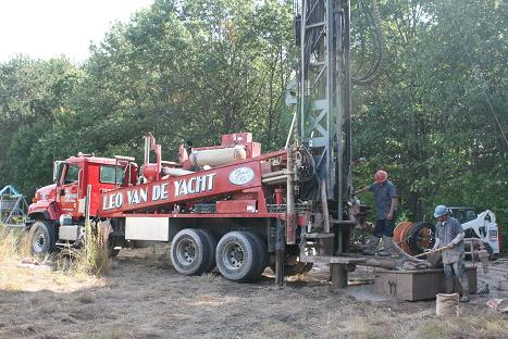Drilling Wells For A Vertical Ground Loop